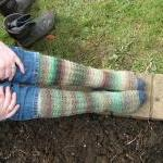 Womans fitted, Thermal calf sock PA..