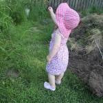 Little Pink Floral Sun Dress, 12 mo..