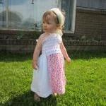 Toddler, Little White Apron Front S..