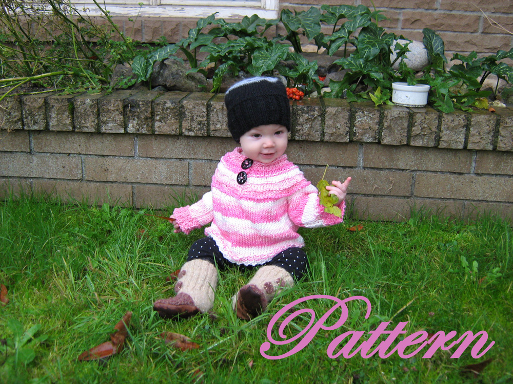 Super comfy, Slouch baby, pull over sweater PATTERN, Reduced price